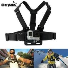 Chest Strap mount belt for Gopro hero 7 6 5 Xiaomi yi 4K Action camera Chest Mount Harness for Go Pro SJCAM SJ4000 sport cam fix