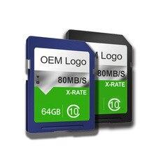 DO CID OEM 16GB 32GB 64GB make CID SD card 32GB memory card 64GB high speed Customized high-end Record CID MAP navigator Adapter
