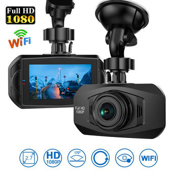 dash cam 4k 70 2.7 inch Dash Cam car dvr FHD 1080p pro Wifi car camera driving recorder action sd card kamera mai samochodowa image