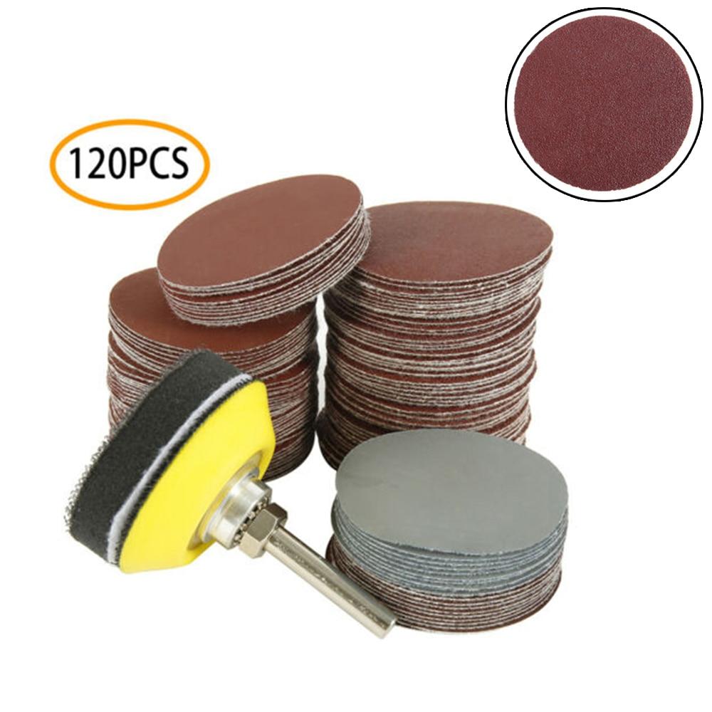 120 шт набор шлифовальный диск Губка колодки резиновый крутящий момент лоток полировка отделка сталь