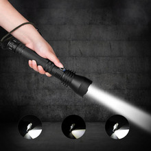3-Modes Torch Flashlight-Lamp Rechargeable Most-Powerful Zoomable XHP70.2 26650 LED USB