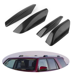 4 sztuk na dach samochodowy wspornik na dach końcówka szyny pokrywa ochronna Shell dla Toyota 4Runner N210 2003 2004 2005 2006 2007 2008 2009