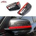 Сменные стильные зеркала заднего вида из углеродного волокна для Mercedes A B C E S CLS GLK CLS Class W204 W212 W207 W176 W218 W117