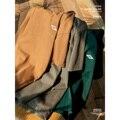 SIMWOOD 2021 Lose Logo Stickerei T-shirts Männer Qualität 3 Nadeln Untere Abdeckung Stich Tops Einfarbig Grundlegende Plus Größe T-shirt