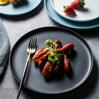 Uniho Keramische Diner Plaat Dessert Thuis Steak Plaat Servies Porselein Ontbijt Lade Fruit Servies Gerechten Taart Platen|Vaatwerk & Borden|   -