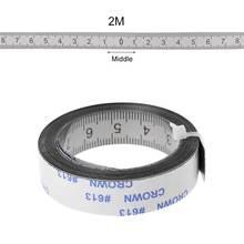 Самоклеящаяся Метрическая рулетка измеритель прибор для деревообработки