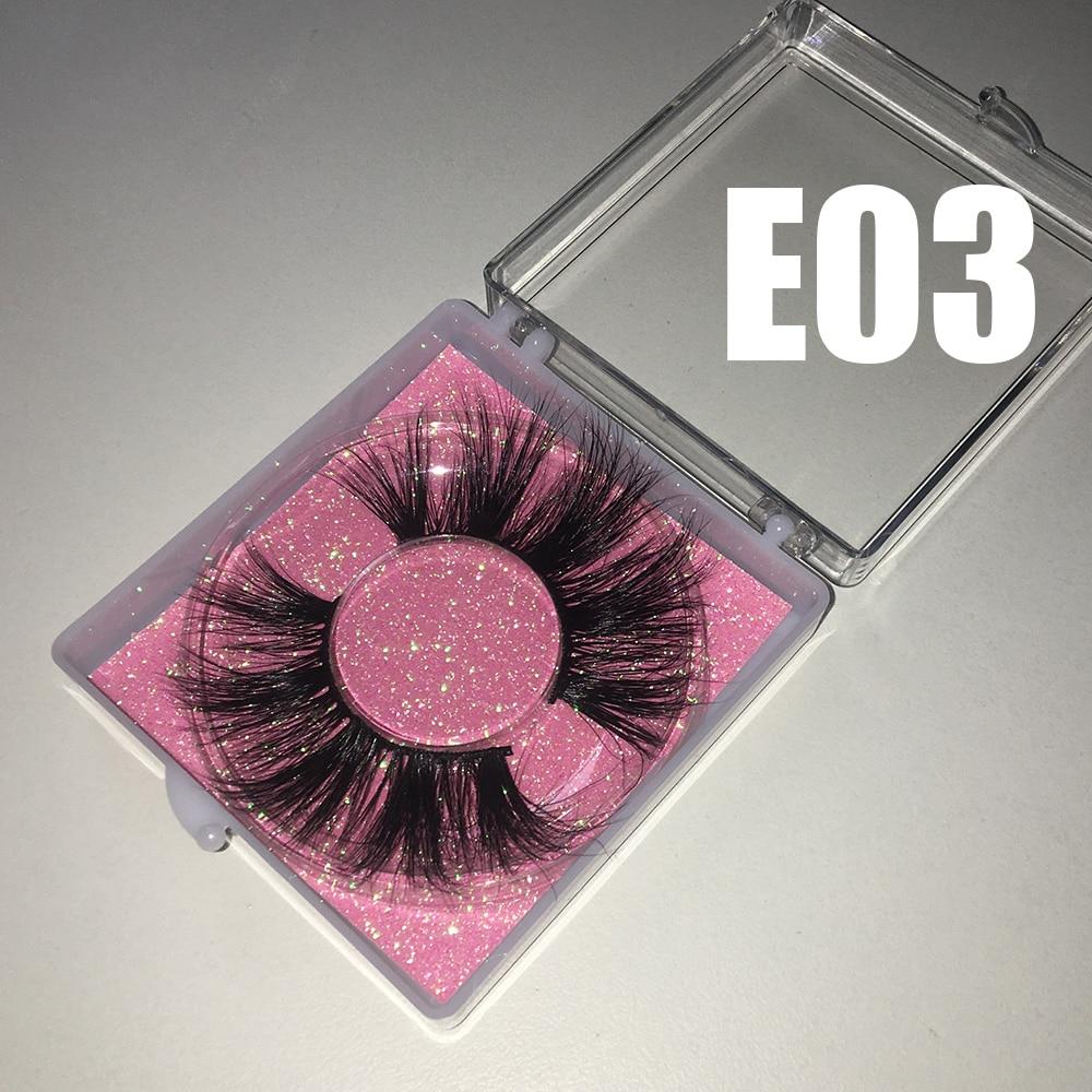 Bossgirl ресницы 25 мм норковые оптом квадратные чехол розовые