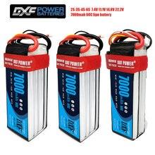 2 шт Графеновый литий полимерный аккумулятор dxf 3s 4s 6s 111
