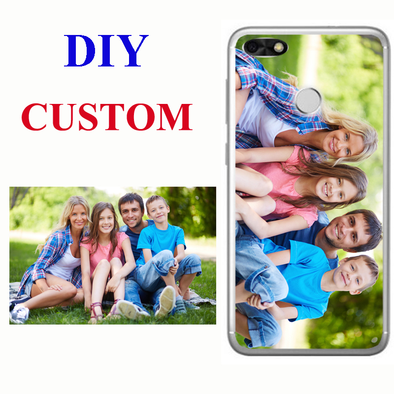 Custom Personalized Phone Case for Huawei Y9 Y7 Y6 Y5 Y3 Pro Prime 2017 2018 2019 Cover Customized Picture Photo