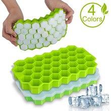Cavity Ice Cube Tray Honeycomb Ice Cube Mold Food Grade Flexible Silicone Ice Molds