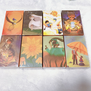 Mini tell story dixit cards game 84 playing cards high quality education game for kids 8 Expansion home party fun board game