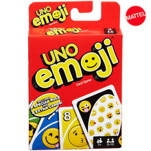 Mattel Games UNO: Emojis Card Game Family Funny Entertainment Board Game Fun Poker Playing Cards Kids Toys Gift(China)
