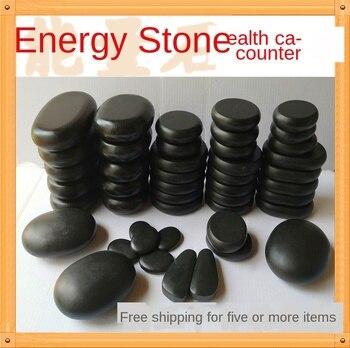 Volcanic energy stone massage hot compress stone beauty parlor SPA bian stone massage hot back stone constant temperature heatin