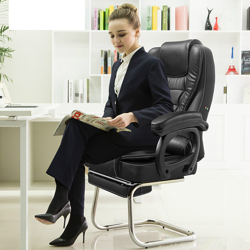 Office Chair Bow Foot Office Boss Chair Silla Oficina Home Computer Chairs Silla Gamer Comfortable Gaming Chair Cadeira Gamer