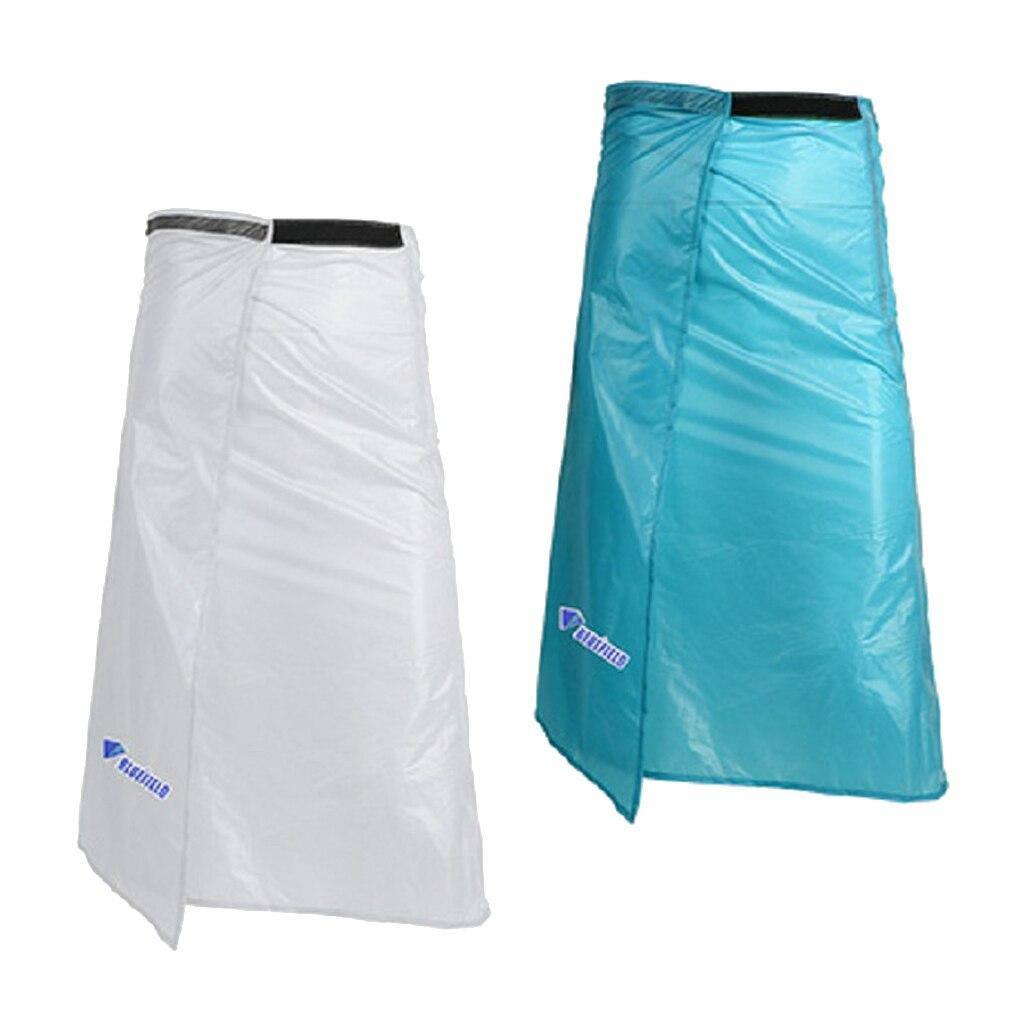 Rainwear Poncho Rain Cover Apron Pants Waterproof Skirt with Carry Pouch Adjust Waist 60 100cm Hiking Jackets     - title=