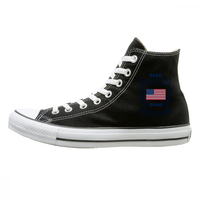 Beer Bacon Guns And Freedom High top Canvas Shoes military firearms guns american army american flag national flag