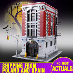 Lepining DHL 16001 Building Toys The 75827 Ghostbusters Firehouse Headquarters Set Building Blocks Brick Assembly Kids Toys Gift