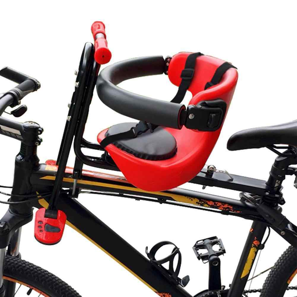 Front//Back Baby Chair Safe Bike Carrier Saddle Bicycle Security Seat Child Kids