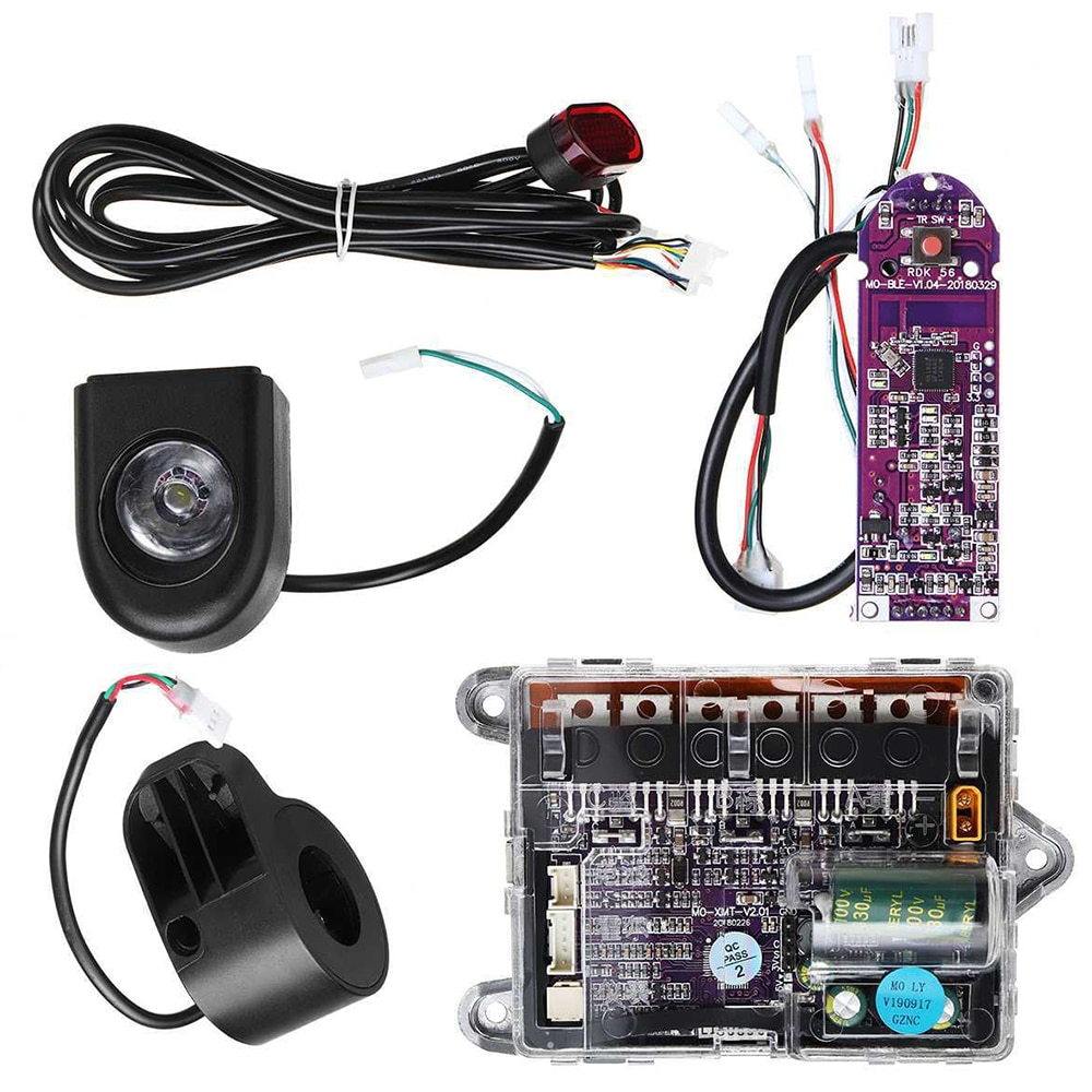 Scooter Dashboard Battery Indicator Switch Panel Motorcycle Scooter Engine Circuit Board For M365 Electric Scooter Controller