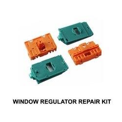Okno samochodu dla AUDI A6 A3 8L naprawa regulatora okna klipy z suwak metalowy przedni lewy|car window regulator|car window clipwindow regulator repair -