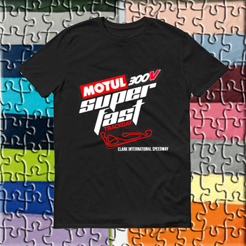 Motul-300v-Superfast-Track-Day-New-MENS-T-Shirt Verano de talla grande camiseta