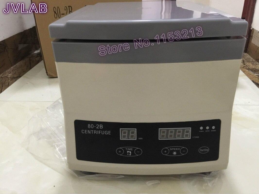 Pantalla Digital centrífuga PRP 80-2B PPP separador de grasa centrífuga de suero prueba médica centrífuga de laboratorio 4000rpm 15ml * 12