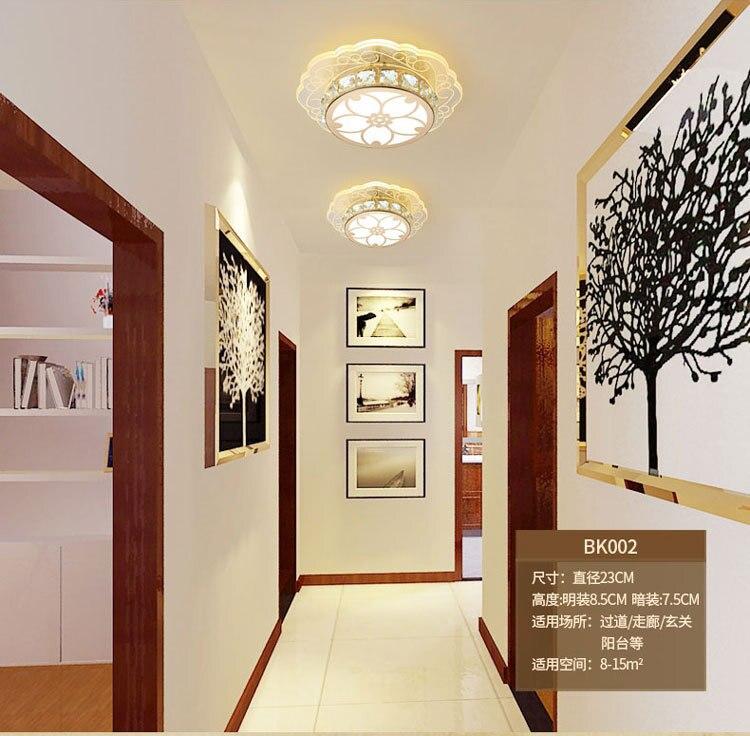 varanda luz do corredor iluminação led luxo