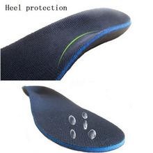 Wysokiej jakości płaskostopie ortopedyczne wkładki do butów podeszwy wkładki sklepienie łukowe korektor mężczyźni kobiety wkładka do buta Eva sportowe wkładki tanie tanio Bigsweety CN (pochodzenie) 3 cm-5 cm Średnie (b m) 873252 Stałe Wytrzymałe Insole Hard Bottom Eva Sports Shoes Integral Shoe Pad