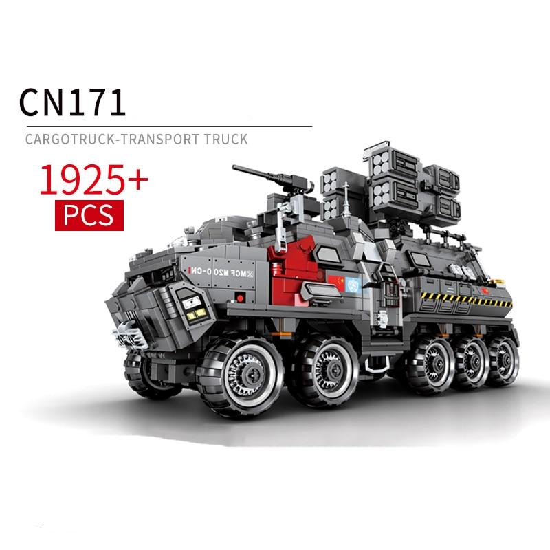 영화 방황 지구 1925pcs cn171 수송 차량 벽돌 빌딩 블록 완구 호환 기술 시리즈 세트-에서블록부터 완구 & 취미 의  그룹 1