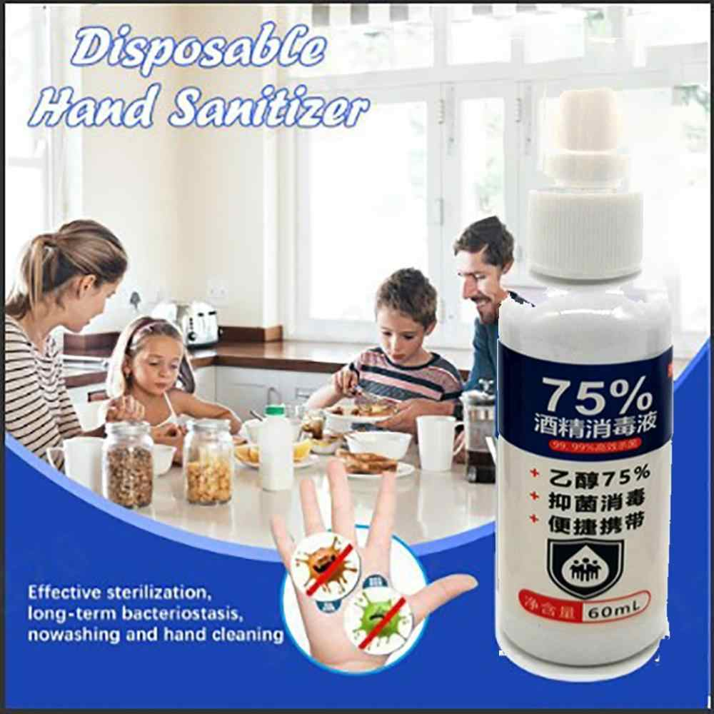 Disposable hand sanitizer Ethanol alcohol disinfectant 5 degree alcohol spray disinfectant Gentle and non-irritating 1 pcs