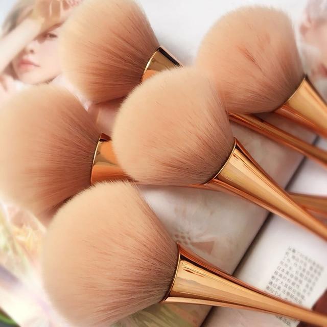 Rose Gold Powder Blush Brush 2