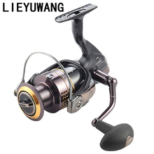 13 + 1BB Gear Ratio 5.2:1 Spinning Fishing Reel Exchangeable Handle 500-6000 Series for Carp Reels