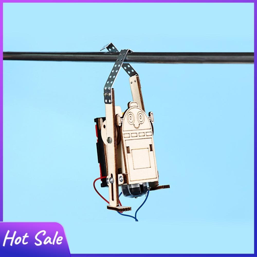 DIY электрическая веревка-робот для скалолазания, детские игрушки для изучения науки, обучающий стержень, набор для физических эксперименто...