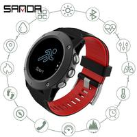 Sanda New R911 Full Touch Screen Smart Watch Air Pressure Altitude Information Sports Racket Chronograph Multi Function Reminder