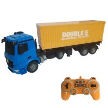 1:20 Scale Big Size RC Container Truck Car Toy Good Gift for Children Boy Kids Second Speed Large Capacity RC Trailer Model