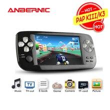 Anbernic portátil handheld console de jogos 64bit flash vídeo juego vídeo game console pap kiii/k3 mais crianças presente 07 retro jogo