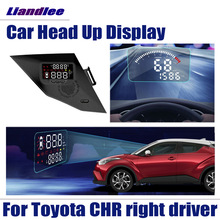 Alarm-Detector Projector-Screen Head-Up-Display HUD Toyota Chr CH-R Driver Overspeed