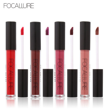 купить FOCALLURE Matte Liquid Lip Gloss Moisturizer Sexy matt velvet mate lipstick lasting waterproof Cosmetic Beauty Makeup lipgloss в интернет-магазине