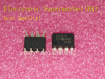цена на Free Shipping 100pcs/lots PIC12F675-I/P PIC12F675 DIP-8  New original  IC In stock!