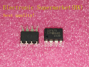 Image 1 - Free Shipping 100pcs/lots PIC12F675 I/P PIC12F675 DIP 8  New original  IC In stock!