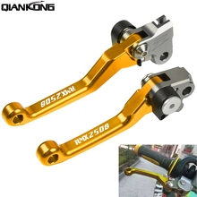 Dirt bike brakes Motorcycle Brake Clutch Levers Handle FOR Suzuki RMX250S  1996 1997 1998 1996-1998 RM X250S