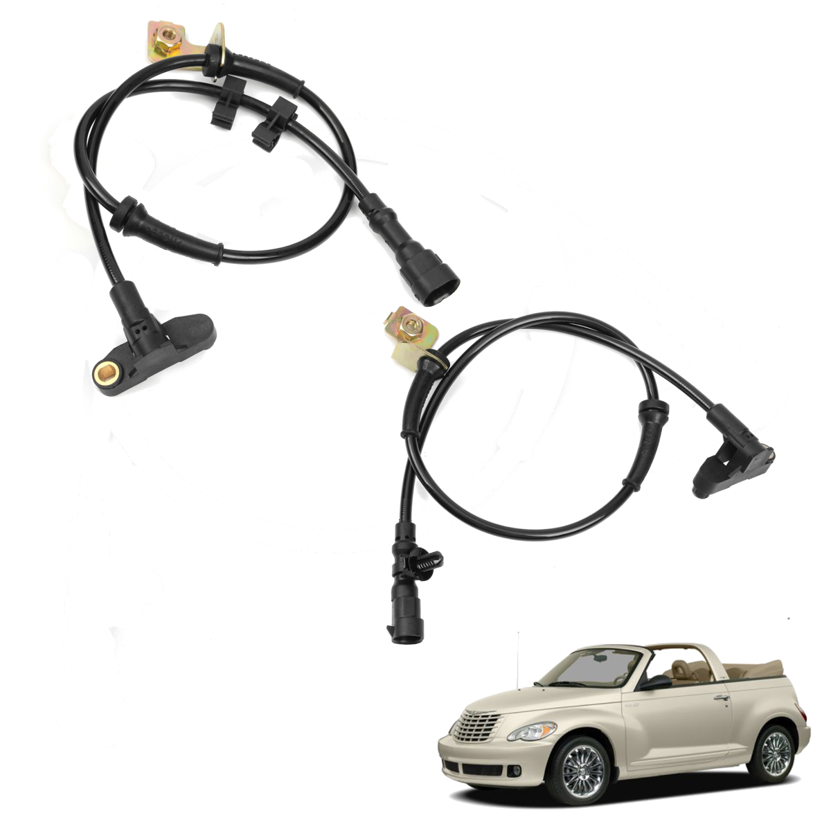 Car Front Left Right ABS Wheel Speed Sensor Transmission For CHRYSLER PT CRUISER 2000-2010 5273333AC 5273332AE Accessories