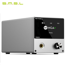 SMSL M500 Decoder Headphone AMP MQA ES9038PRO ES9311 XMOS XU-208 32bit 768kHz DSD512 Hi-Res Audio USB DAC Headphone Amplifier 2016 new smsl t1 multi function decoder headphone amplifier with preamplifier