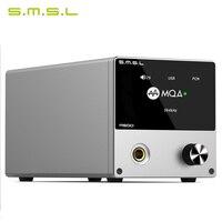 SMSL M500 Decoder Headphone AMP MQA ES9038PRO ES9311 XMOS XU 208 32bit 768kHz DSD512 Hi Res Audio USB DAC Headphone Amplifier