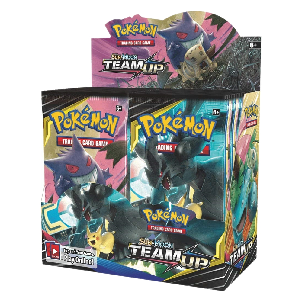 324 Cards Pokemon TCG: Sun & Moon Team Up Collectible Trading Card Set