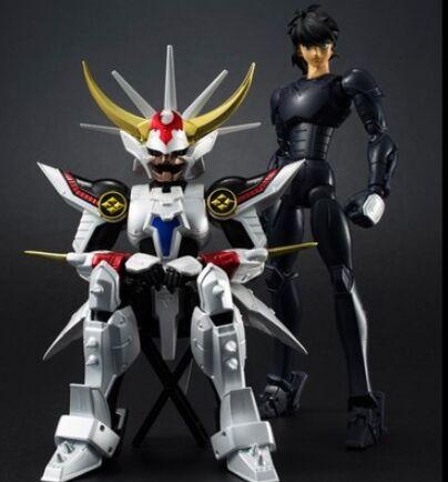 DATONG model Ronin Warriors Yoroiden Samurai Trooper ryo The Armor of Inferno Metal Cloth Armor Plus(China)