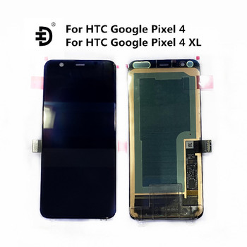 """Original 6.0""""LCD For HTC Google Pixel 4 XL LCD Display Touch Digitizer Screen 5.7"""" For HTC Google Pixel 4 LCD Screen Replacement"""