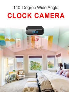 Mini Camera Clock Camcorder-Alarm-Set Remote-Monitor Table Motion-Sensor Wifi Night-Vision