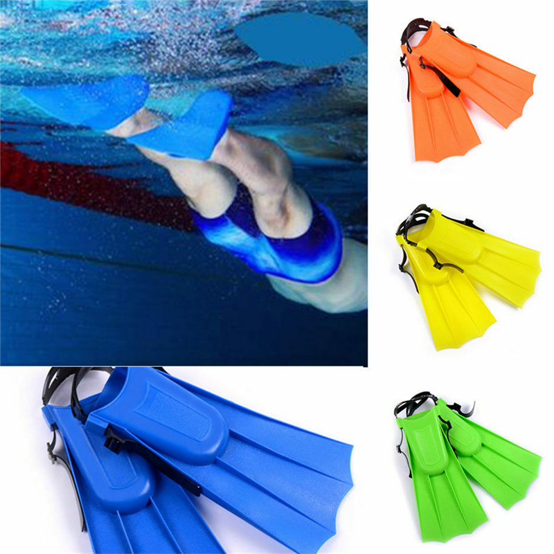 Super Non-slip Kids Swimming Fins Full Foot Short Foot Ultra Light Diving Fins Diving Supplies Suitable Water Activities