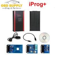 Obd2 iprog + programador suporte immo + correção de quilometragem + airbag redefinir iprog pro até 2019 substituir carprog/digiprog/tango